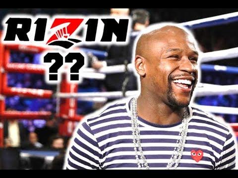 Floyd Mayweather Signs to Rizin Kickboxing
