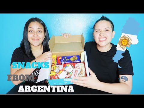 Americans Try Argentinian Snacks! 😌