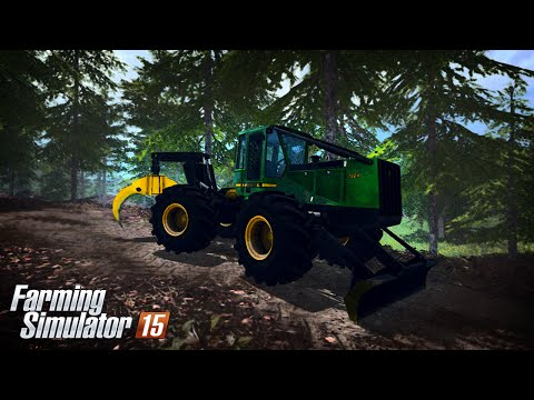 John Deere 748H v1.1 Winch BETA