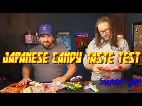 Japanese Candy Taste Testing *Vomit Warning* (видео)