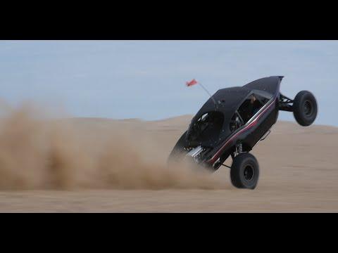 Glamis Sand Dunes Sandrail Slow-Mo