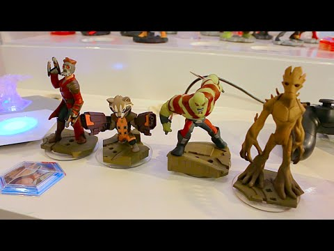 2.0 - Visit http://www.InsideTheMagic.net for more from Disney Infinity! Hands-on demo with the new Guardians of the Galaxy characters and play set in Disney Infinity 2.0 Marvel Super Heroes edition...