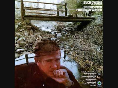 Tekst piosenki Buck Owens - Bridge Over Troubled Water po polsku