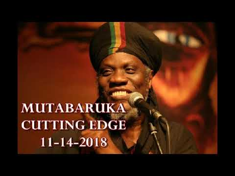 Mutabaruka CUTTING EDGE 11 14 18