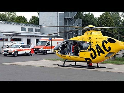 Rettungshubschrauber nach Kindernotfall gelandet