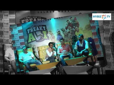 , Freaky Ali Movie Promotion in Hyderabad
