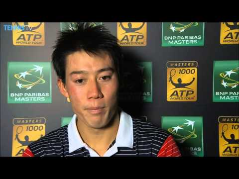 Paris - Kei Nishikori talks about his defeat of David Ferrer in the BNP Paribas Masters quarter-finals on Friday. Watch live matches at http://www.tennistv.com/