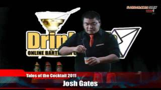 Flairbar.com Show with Josh Gates behind the bar @ Tales of the Cocktail 2011!