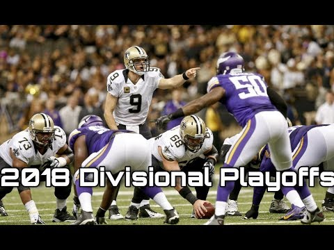NFL 2018 Divisional Playoffs Preview and Predictions! Saints@Vikings, Jaguars @ Steelers, and More!