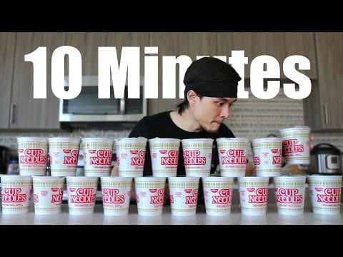 10min Cup Noodle Challenge