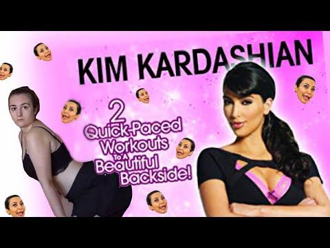 i followed kim kardashian's butt workout dvd 🍑