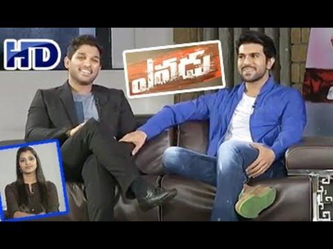 Yevadu || Chit Chat with Ram Charan and Allu Arjun || Part 02