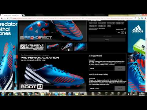 How To Buy Soccer/Football Clothings And Equipment | Prodirect Soccer