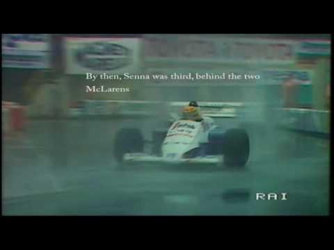 magico senna: spettacolo a monaco 1984!