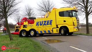 Video Gekantelde vrachtwagen Kruiningen weer geborgen. MP3, 3GP, MP4, WEBM, AVI, FLV Mei 2019