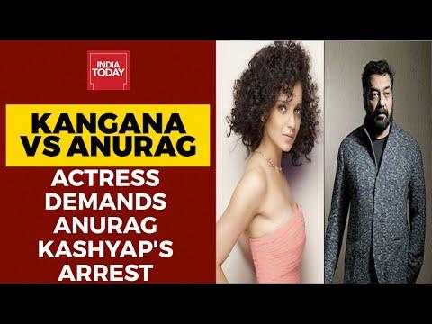 Kangana Ranaut Demands Anurag Kashyap's Arrest; Director Denies Sexually Harassing Payal Ghosh