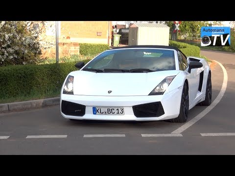 Lamborghini Gallardo Spyder (520hp) – DRIVE & SOUND (1080p)