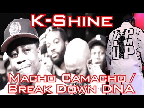 SMACK/URL/Big Cheese Presents – K-Shine – Macho Camacho / Break Down DNA