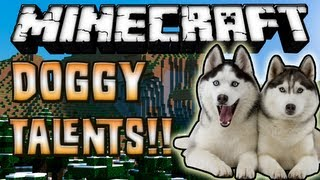 Minecraft 1.7.2 - Review De Doggy Talents MOD - ESPAÑOL TUTORIAL