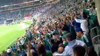 28/6/2015 - Quarto gol contra os bambis na nossa casa, na nossa arena....emoção total!!!
