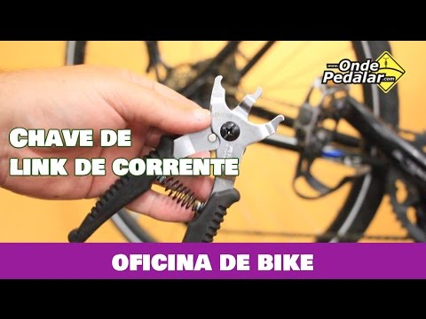 Alicate para tirar link de corrente de bicicleta