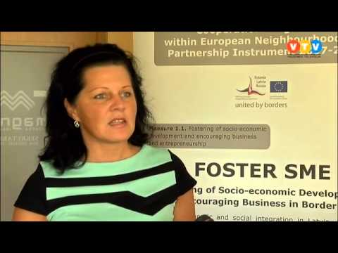 Starpvalstu projekts uzņēmējdarbības veicināšanai tuvojas nobeigumam
