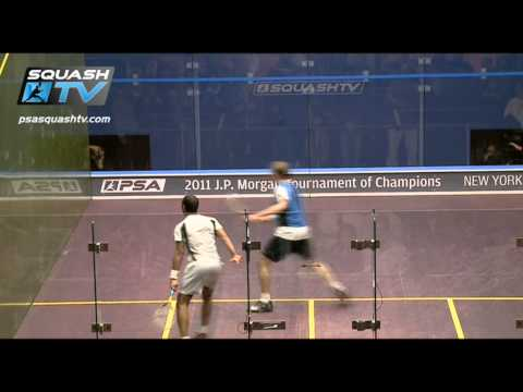 Squash : PSA JP Morgan Tournament of Champions – Nick Matthew wins epic squash semifinal