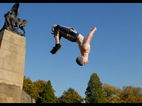 GoPro HD: Parkour Flips
