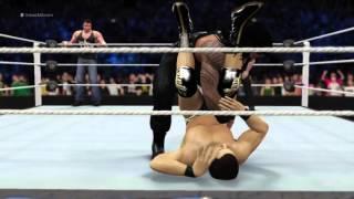 WWE Thursday night Smackdown 2.4.16_ Roman Reigns and Dean Ambrose v League of, công phượng, u23 việt nam, vleague