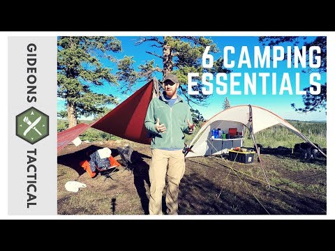 6 Camping Essentials: Camp Like A Boss