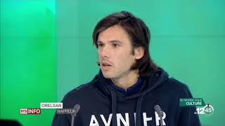"""Reportage & interview sur Orelsan pour """"La fête est finie"""" à la télévision"""