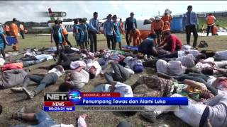 Video Pesawat Airbus Mendarat Darurat dan Terbakar di Bandara Juanda - NET24 MP3, 3GP, MP4, WEBM, AVI, FLV Januari 2019
