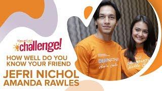 Download Video Seberapa Dekat Jefri Nichol & Amanda Rawles | #KapanLagiChallenge MP3 3GP MP4