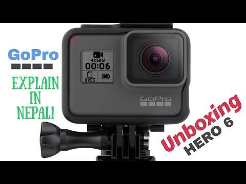 (GoPro Hero 6 Black : Unboxing & Explain in Nepali - Duration: 14 minutes.)