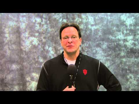 Indiana Head Coach, Tom Crean Gives a Message to Alma College