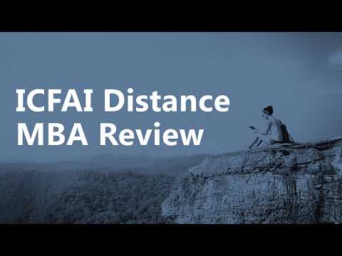ICFAI Distance Learning MBA