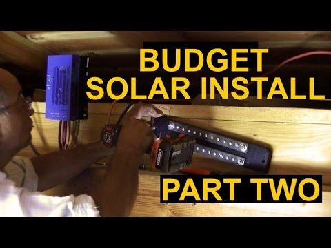 Simple Solar Installation Part 2