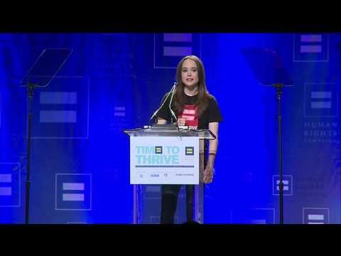 Ellen Page Joins HRCF's Time to Thrive Conference