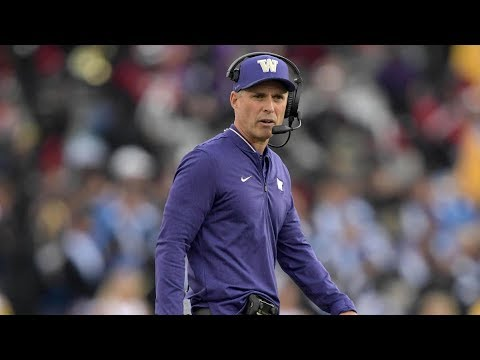 ✅  Chris Petersen addresses sudden resignation as Washington coach, leaves future plans open