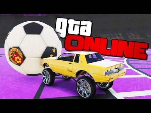 GTA ONLINE - ИГРАЕМ В ФУТБОЛ КРУТЫМИ ТАЧКАМИ! (УГАР) #309