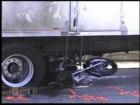 Fatal Motorcycle vs Truck With Fire Westbound SR 16 (Hwy 16) From I5 Tacoma WA