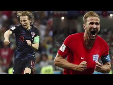 Megores momentos del partido de Croacia vs Inglaterra