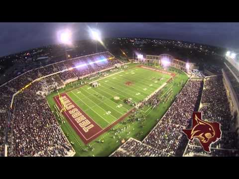 Texas State's Bobcat Stadium Aerial Coverage