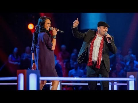 gary - http://www.bbc.co.uk/thevoiceuk Singing 'Caught Up' in their vocal battle.
