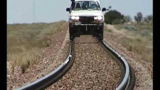 Rding the rails in style Nullarbor Australia