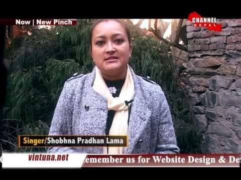 I lob You Shobna pradhan lama in New Pinch on channel nepal