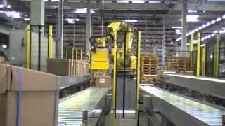 Cartons cerclés (industrie électrique)