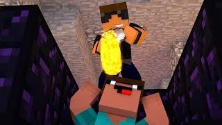Ultimate Obsidian Minecraft Troll! (Minecraft Trolling Noob)