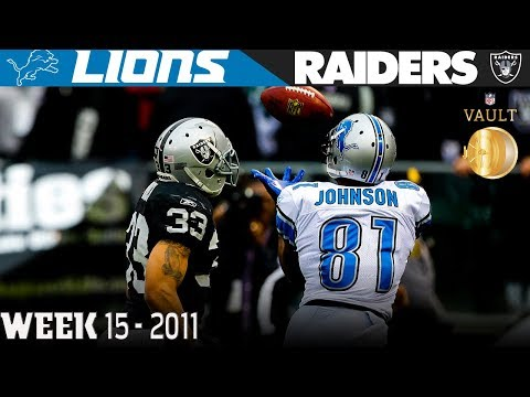 Megatron Comes Through in the Clutch (Lions vs. Raiders, 2011) | NFL Vault Highlights