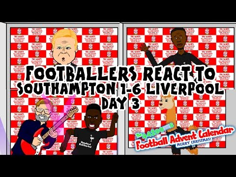 Southampton 1-6 Liverpool (Day 3 Football Advent Calendar) League Cup 2015 No Goals Highlights!